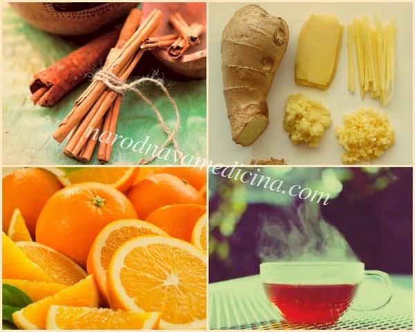 имбирный чай от простуды