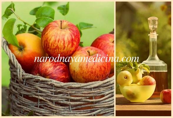 Лечебные свойства яблочного уксуса