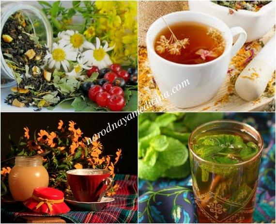 Успокаивающие травяные чаи