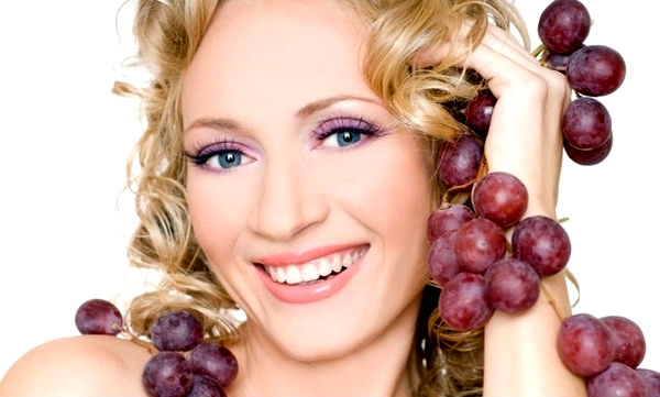 виноград для лица