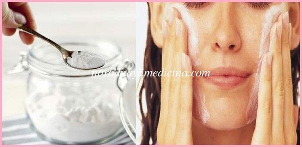 скраб с содой для лица