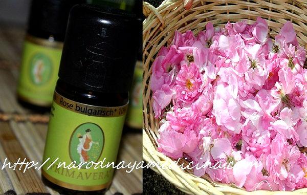 эфирное масло розы свойства применение