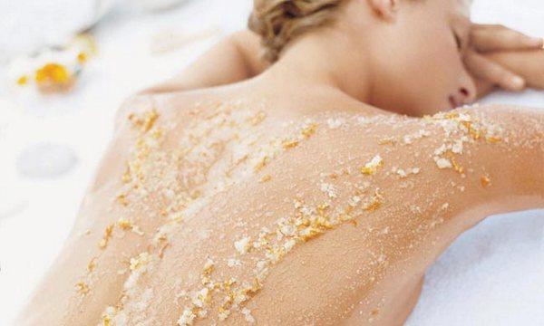 Солевой скраб для тела в домашних условиях