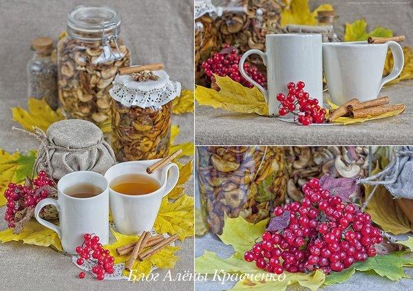 Чай от простуды из калины