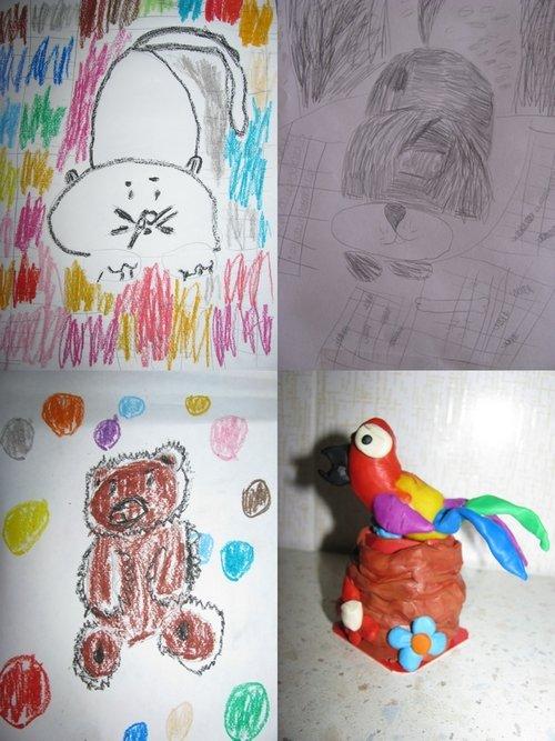 Творчество Дианы детские рисунки