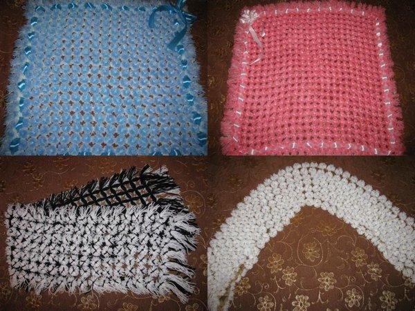 Пледы и шарфы