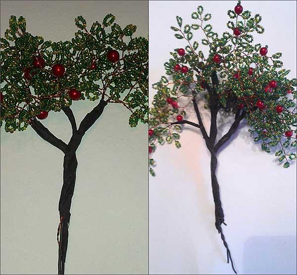 бисерное дерево мастер класс