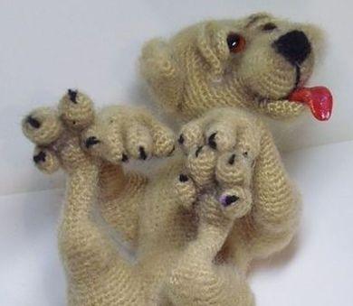 игрушка из пряжи