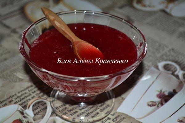 Соус из калины на зиму, рецепт