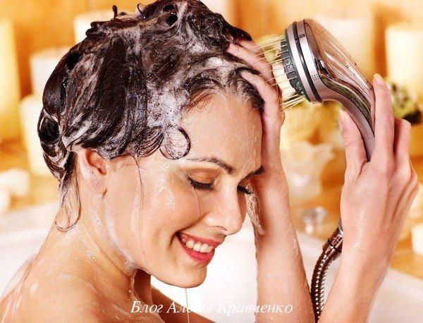 Как смыть масло ши с волос