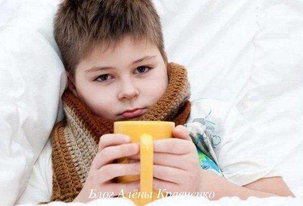 Компресс при ангине и боли в горле