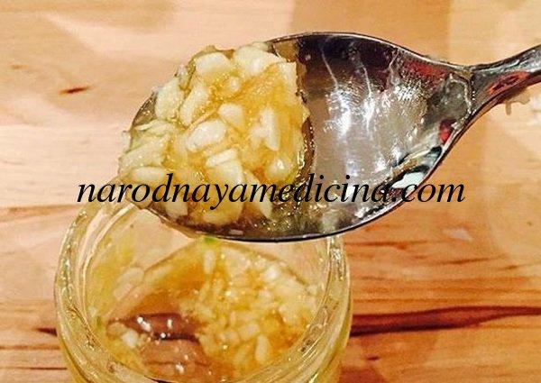 Болит горло чеснок и мед