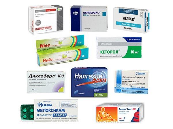 Нестероидные при остеохондрозе
