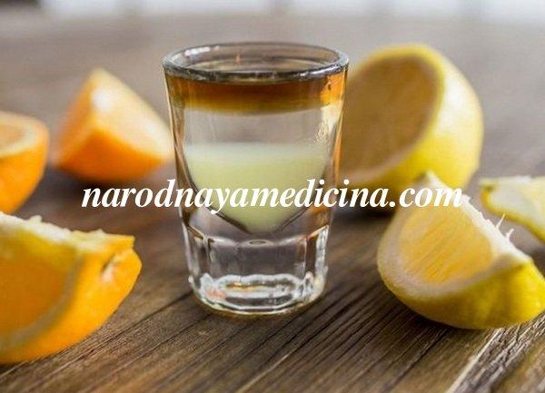 Водка с лимоном от простуды