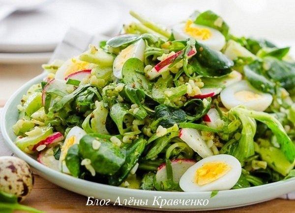 Щавель салат