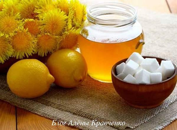 Варенье из одуванчиков с лимоном