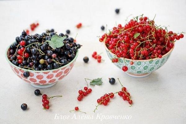 Варенье из черной и красной смородины