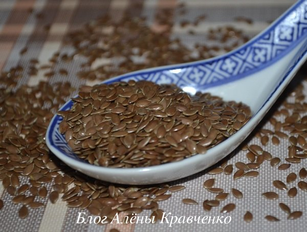 Семена льна для желудка