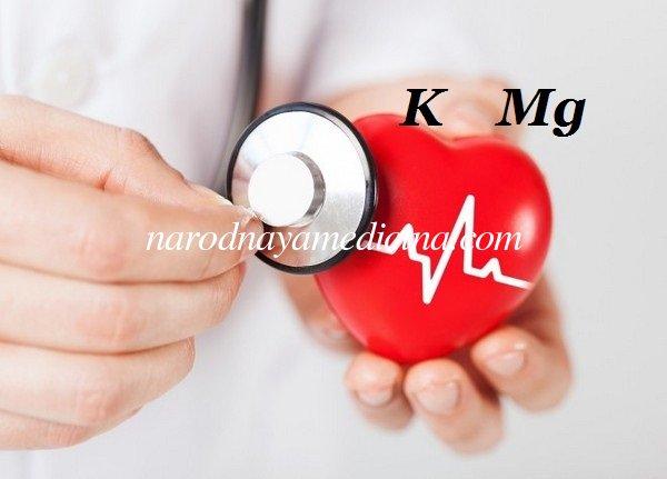 Препараты калия и магния