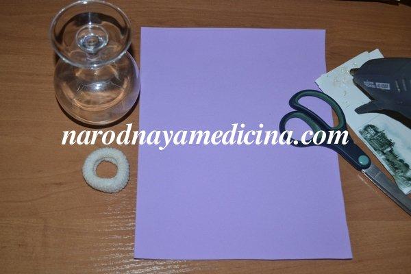 Резинка зефирка из фоамирана