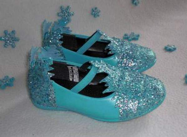 Костюм Снежинка обувь
