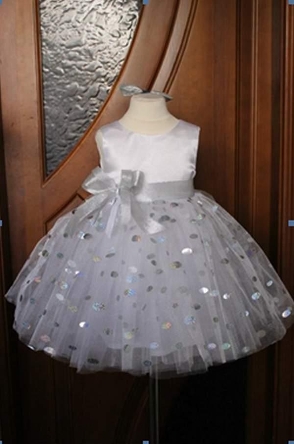 Пышное платье Снежинка