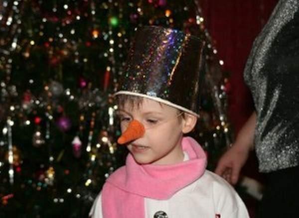 Костюм снеговика на новый год