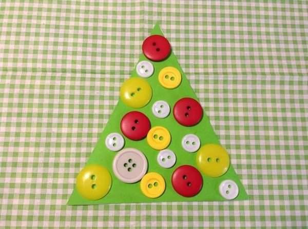 Игрушка на елку из подручных материалов на Новый год