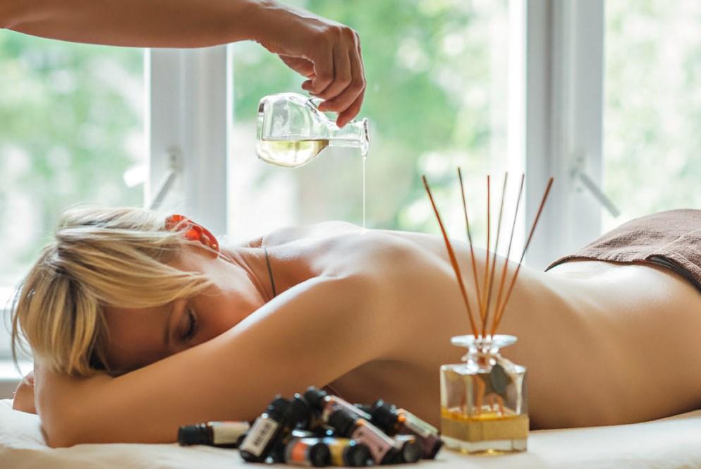 Массаж ароматерапия