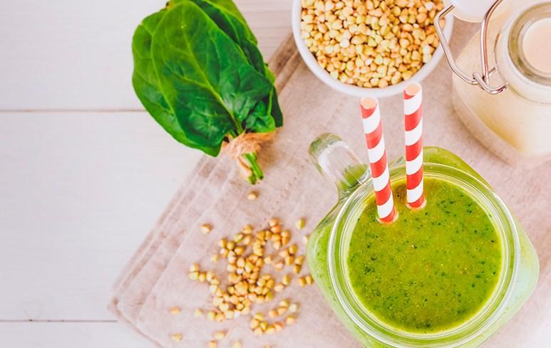 Напиток из зеленой гречки