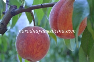 какие витамины в персиках