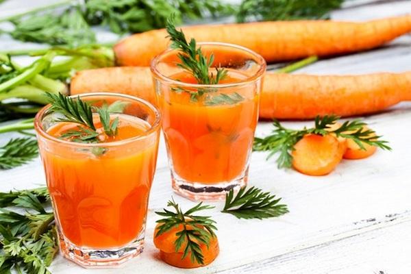 лечение морковным соком