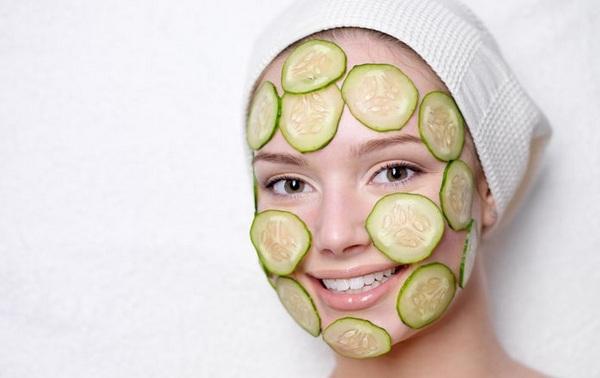 маска из свежего огурца для лица