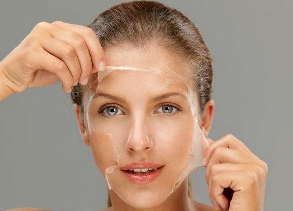 желатиновая маска для лица в домашних условиях