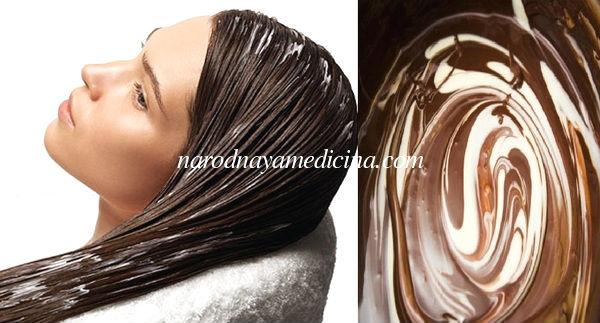 маска с какао для волос