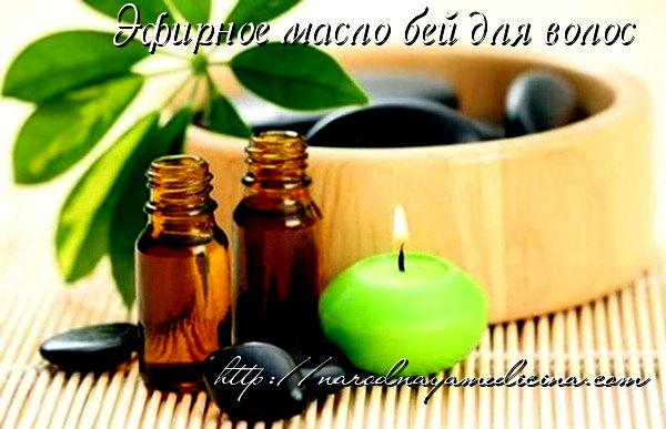 эфирное масло бей для волос