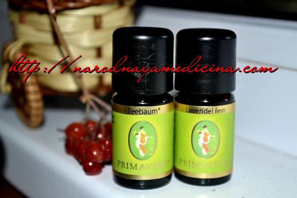 эфирное масло примавера чайное дерево и лаванда