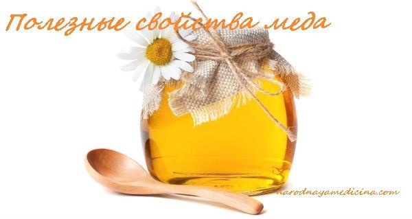 мед полезные свойства и противопоказания