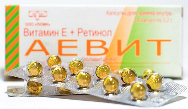 витамины аевит для волос