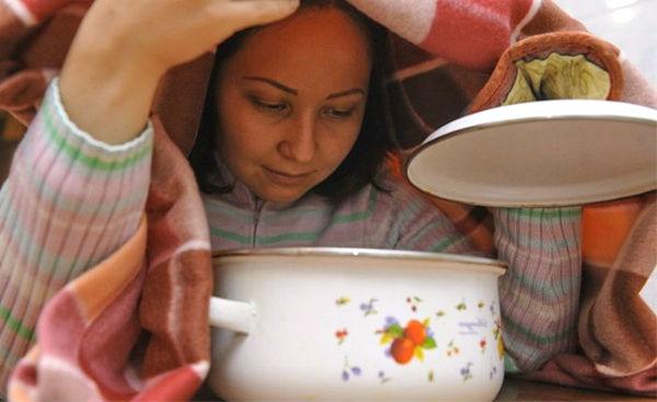 Ингаляции от кашля в домашних условиях
