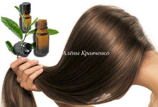 Эфирное масло чайного дерева для волос