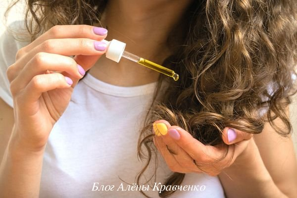 Масло для секущихся кончиков волос