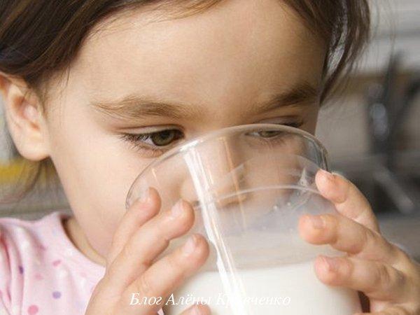 Молоко с содой и медом от кашля детям