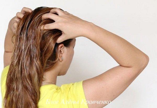 Маска для волос с маслом льна