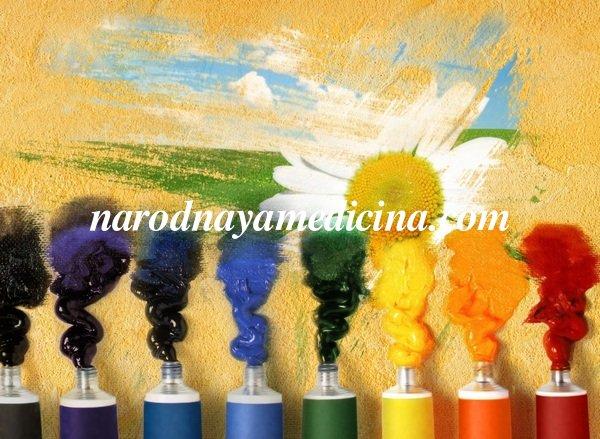Счастливые цвета по дате