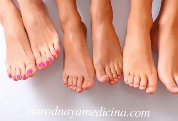 Первая помощь при судороге пальцев ног