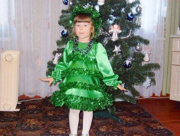 Костюм Ёлочка на Новый год