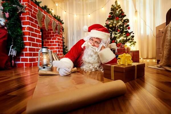 История Нового года Святой Николай