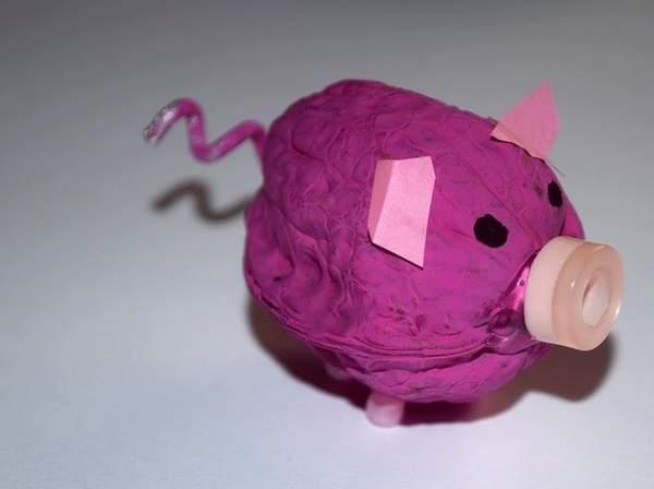 Новогодняя игрушка на елку Свинка — разнообразные идеи